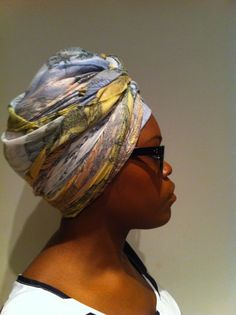 Natural Belle: The Tutorial: Erykah/solange inspired Turban