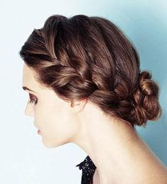 wedding hair. karikopf
