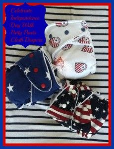 Let's get patriotic with Patty Pants Cloth Diapers #redwhiteblue {Giveaway} | Our Piece of Earth