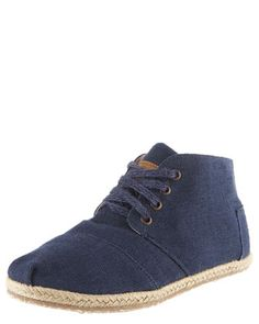 Wisett Lace-Up Desert Bootie by TOMS Shoes at Bergdorf Goodman.