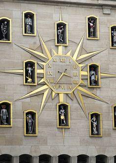 Relógios - Palais des Congres - Brussels, Belgium.