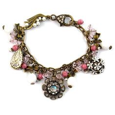 Tutorials | Vintage Pink Charm Bracelet | Handmade Fashion Jewellery – Devoted to DIY Jewellery