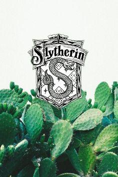 Slytherin Wallpaper Cacti