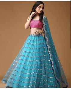 Pearl_designers Book ur dress now Completely stitched Customised in all colours For booking ur dress plz dm or whatsapp… Indian Lehenga, Half Saree Lehenga, Lehenga Blouse, Bridal Lehenga Choli, Kids Lehenga, Blue Lehenga, Wedding Sarees, Lehenga Choli Designs, Designer Bridal Lehenga