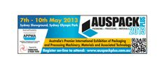 Auspack 2013 will be the next show to see our vertical conveyors; see you in Sydney