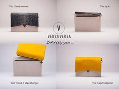 We sluiten het rijtje ontwerpers af met de Belgisch-Ierse Sinead Shannon-Roche en haar label Versa Versa. Sinead startte haar handtassenmerk...