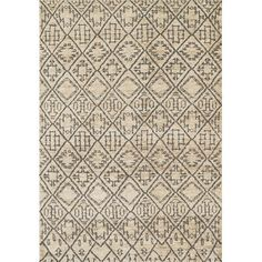 Sahara Hand-Knotted Beige/Gray Area Rug