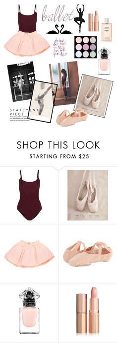 """""""Ballet🎀"""" by zarnati ❤ liked on Polyvore featuring Ballet Beautiful, Emile et Ida, Bloch, Guerlain, Chanel, rose, tutu and ballet"""