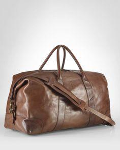 Polo Ralph Lauren Leather Duffel Men - Bloomingdale s ebee88563293a