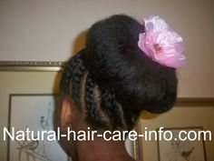 Flower Girl Hairstyle - Natural Hair Care Info