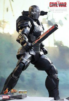 Hot Toys : Captain America: Civil War - War Machine Mark III 1/6th scale collectible figure