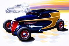 1936 Ford Woody Wagon.    http://garycampesi.com/digital-paintings/,  http://garycampesi.com/vector-drawings-2/,  http://garycampesi.com/cartoons-fun-stuff/,  http://garycampesi.com/concept-drawings-2/,  http://garycampesi.com/sketches-2/,  http://garycampesi.com/commissioned-designs-2/.