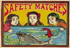 レトロでかわいいっ!明治〜昭和期のマッチ箱デザインが大量に楽しめる「マッチの世界」 – ガジェット通信