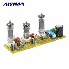 Get Best Price Aiyima Vacuum Tube amplifiers Valve Stereo Amplifier Board Filament AC Power Supply + Tubes Electronics Projects, Consumer Electronics, Valve Amplifier, Hifi Audio, Vacuum Tube, Ac Power, Aliexpress, Diy Kits, Vacuums