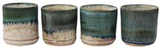 Wedding Favors!! Lending a contemporary yet rustic charm, these cups with an effect of splashed colors is a marvelous add-on to the serveware. Fired in oven multiple times before coming into this shape, these mugs look rare and artistic. You can order these in bulk at wholesale price.