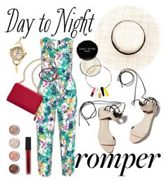 """.."" by detroitgurlxx ❤ liked on Polyvore featuring Manon Baptiste, 3.1 Phillip Lim, TravelSmith, Bobbi Brown Cosmetics, Terre Mère, Smashbox, DayToNight and romper"