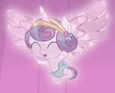 #1117562 - animated, crystallized, crystal pony, loop, princess flurry heart, safe, screencap, spoiler:s06e02, the crystalling - Derpibooru - My Little Pony: Friendship is Magic Imageboard