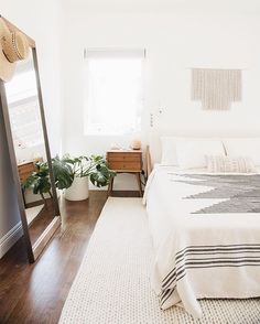 finally sharing the reveal our bedroom today! it's on the blog and so are the ugly before pho...