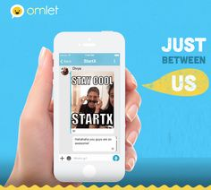 Crea y aprende con Laura: Omlet. App de mensajería en la que controlas tus d...