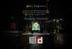 Fischer & Partners Recruitment is seeking SALES ENGINEER to work in Bangkok, Thailand –> Apply Now !!!  recruit5@fischerandpartners.com  https://recruit.zoho.com/recruit/ViewJob.na?digest=duBuh5Cl.xppfB786q9KjCNjTaQPJ2HvohLCDfkgthQ-&embedsource=Embed  http://www.fischerandpartners.com/recruitment-services/