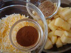 Tasty Treat: Cheesy Cinnamon Apple + Flaxseed