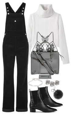 """""""Untitled #478"""" by flowercalder ❤ liked on Polyvore featuring AG Adriano Goldschmied, Ash, Fleur of England, Balenciaga, Monica Vinader, MANGO and Michael Kors"""
