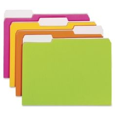 Smead Neon Colored Folder SMD11925