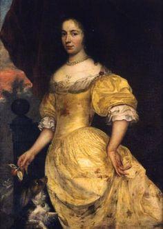 Duchesse de Chevreuse (wearing patterned skirt)