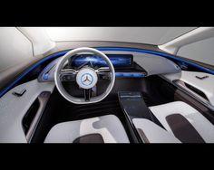 Mercedes-Benz EQ Pure eléctrico SUV Coupé Concept 2016