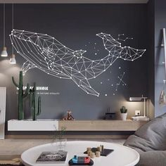 Sea Whale Wall Decals – The Treasure Thrift You are in the suitable put about hippie residence decor