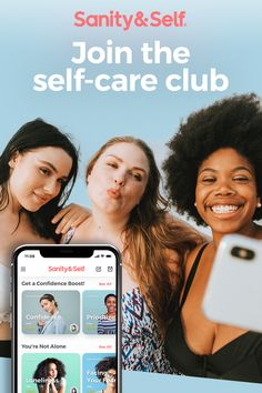 Self-care isn't just about bubble baths and face masks (although we love those too). It's about women empowering themselves and one another to heal, grow and belong. Join the club! Google Fit App, Taboo Topics, Confidence Boost, Happy Relationships, Take Care Of Me, Self Discovery, Learn To Love, Stress And Anxiety, Stress Relief