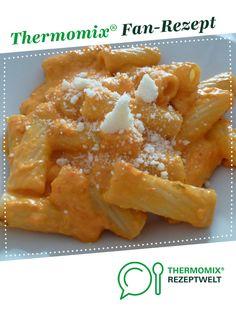 sämige Paprika Soße (lecker für Kinder) von Mia.Stella. Ein Thermomix ® Rezept aus der Kategorie Hauptgerichte mit Gemüse auf www.rezeptwelt.de, der Thermomix ® Community.