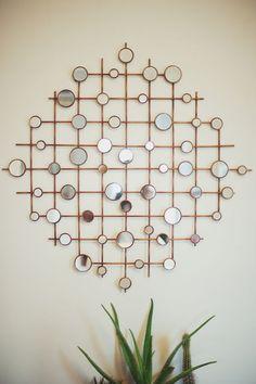 Spiegel rond in meerdere delen