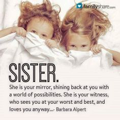 Unconditional Love Quotes for Family & Friends Sister Love Quotes, Family Love Quotes, Sister Poems, Love My Sister, Sister Friends, True Friends, Sister Cards, Sister Birthday Quotes, Lil Sis