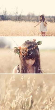 ©Mandy Lynne deer & arrows    I love this age and taking photos in a field like this