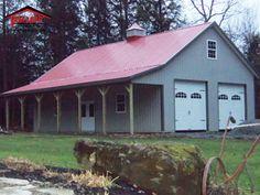 Pole Barns Living Quarters Mark Holland Construction