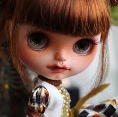 OOAK Muñeca Customizada Blythe Custom con Dientes por beyourdolls