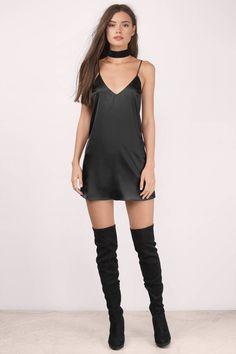 For You Satin Shift Dress  Women's Fashion | #MichaelLouis - www.MichaelLouis.com