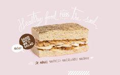 Sandwich or Salad 2014 by David Madrid Banner Design, Layout Design, Web Design, Graphic Design, Food Posters, Caligraphy, Web Banner, Taste Buds, Restaurant Design