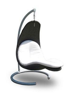 Redes e cadeiras suspensas vão bem em diferentes ambientes