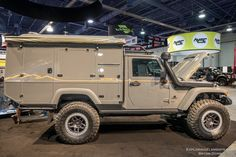Khaki/tan/sand was the 'it' color at The SEMA Show 2017. Some of the most impressive off road and overland builds at the show featured this color scheme.