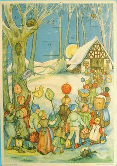 Soloillustratori: Papier de Noël
