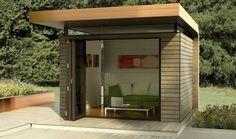 Atelier Garden Studios – Home Office Design For Women Garden Studio, Home Studio, Prefab Buildings, Home Panel, Woman Cave, Garden Office, Home Office Design, Most Beautiful Pictures, Facade