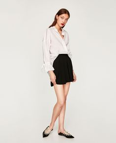 Image 1 of FLOWING SHORTS from Zara