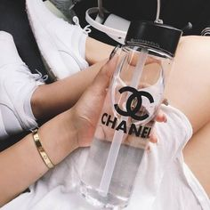 chanel, water, and luxury image Gabrielle Bonheur Chanel, Cute Water Bottles, Boujee Aesthetic, Aesthetic Images, Rich Girl, Coco Chanel, Chanel Brand, Luxury Lifestyle, Wealthy Lifestyle