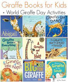 Children's Books Featuring Kids + World Giraffe Day Activities