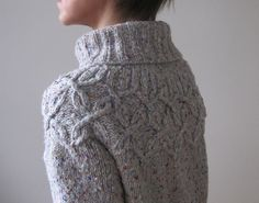 pattern 'Frosting', done by Heidi Kirrmaier based on the Pattern #08 'Cabled…