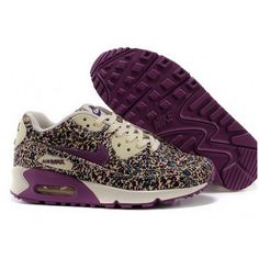 Women Nike Air Max 90 Violet Shoes