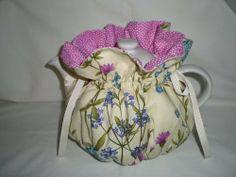 Wild Flowers Tea Pot Cozy {Fits 6 Cup Teapot} reversible: 19.95