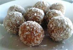 Nepečené jáhlové kuličky Krispie Treats, Rice Krispies, Truffles, Muffin, Sweets, Sugar, Baking, Breakfast, Cake